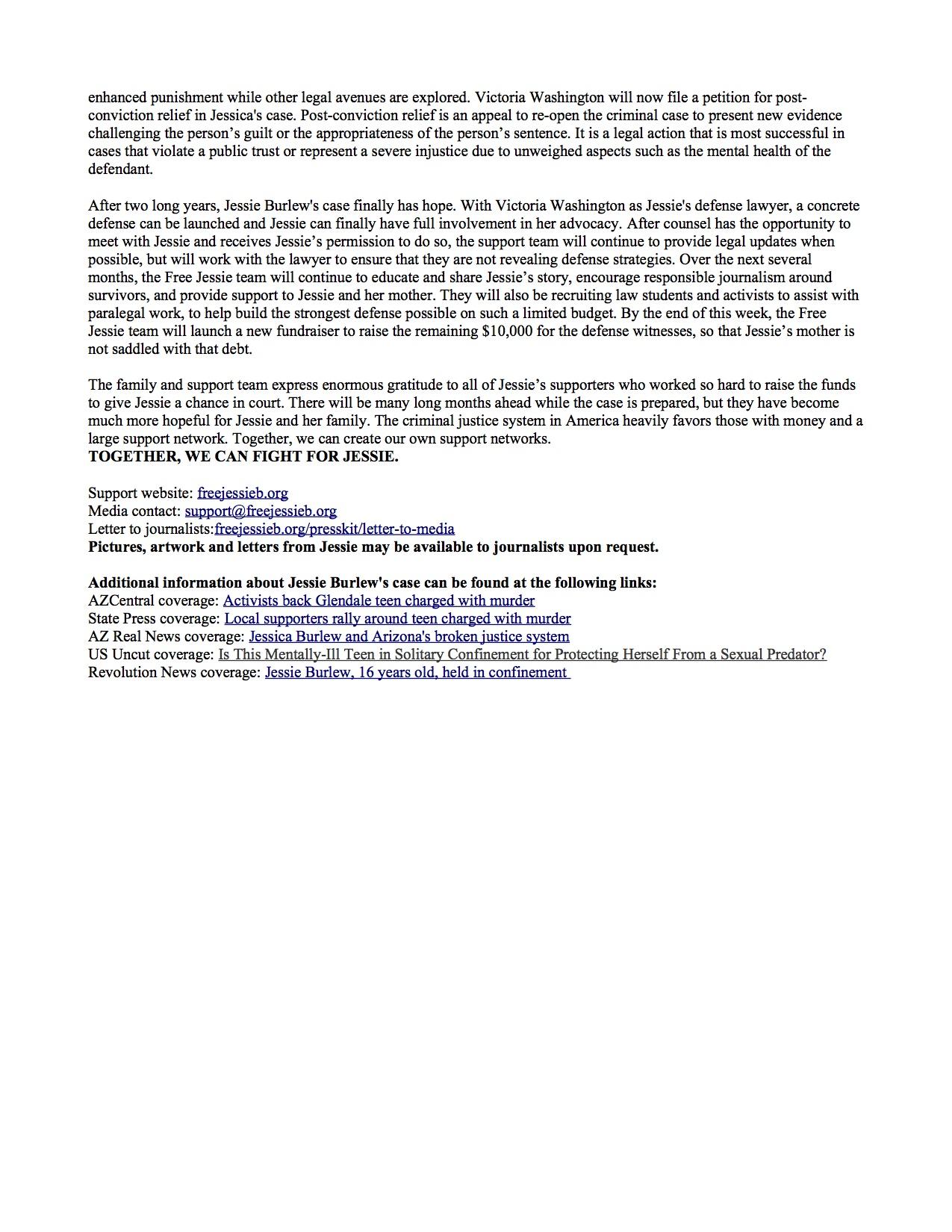 Jessie Burlew sentencing press release2